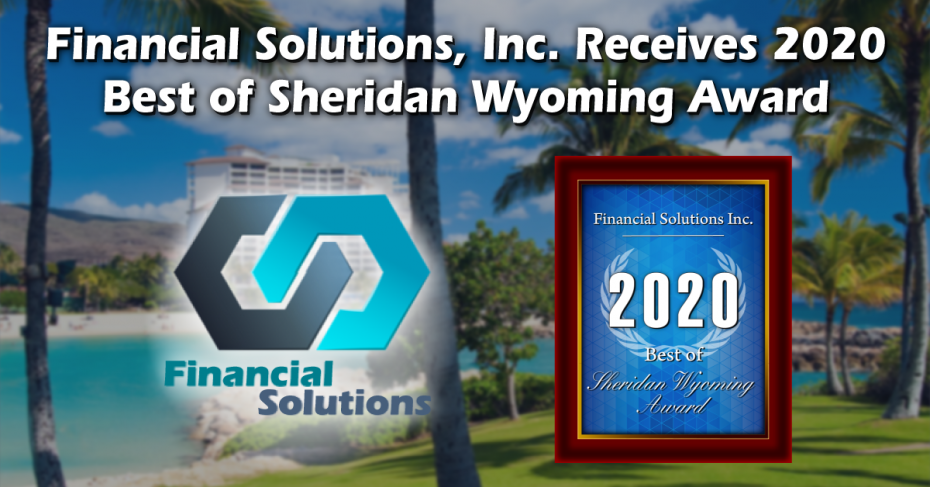 Financial Solutions Inc. Receives the 2020 Best of