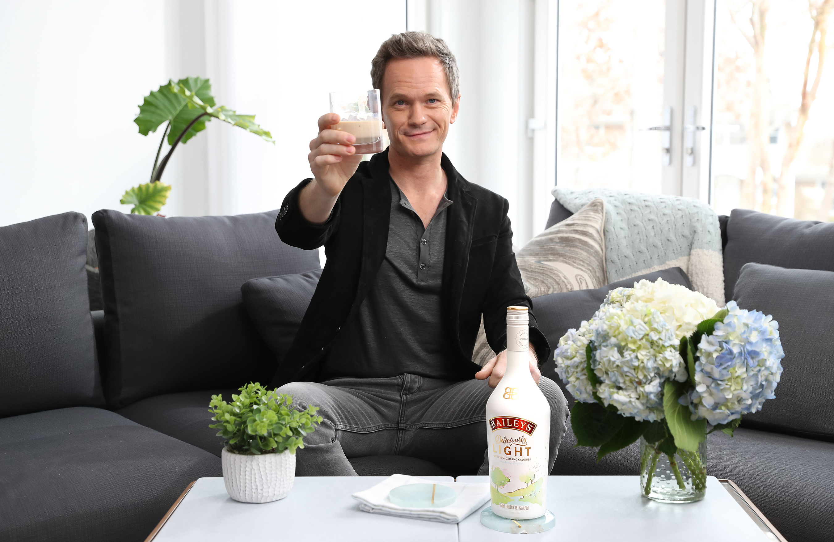Neil Patrick Harris Treats Himself to a Light Break with the New Baileys Deliciously Light