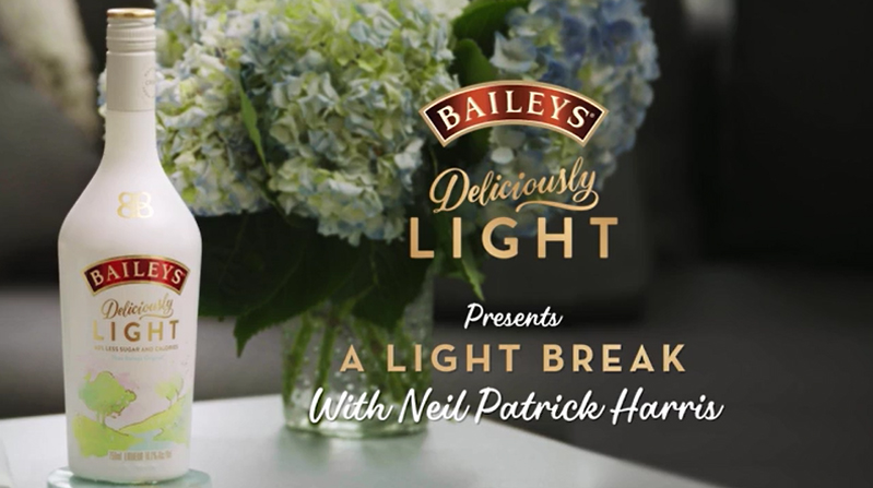 Award-winning actor Neil Patrick Harris partners with Baileys Deliciously Light to deliver a light break to a special someone in his life