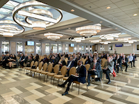 JFK Air Cargo EXPO audience listening to speakers